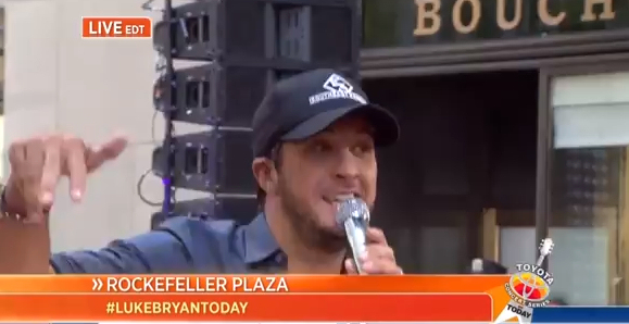 Luke Bryan- today