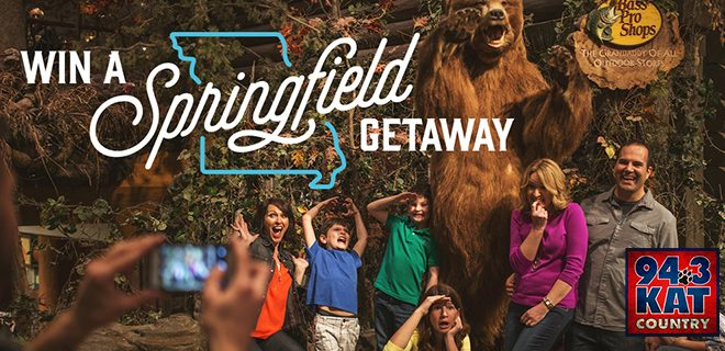 Win a getaway to Springfield, Missouri