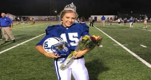 Homecoming queen wins big game
